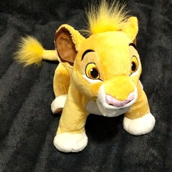 Disney Store Simba Plush